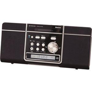 コイズミ ステレオCDシステム SDB-1601/K ブラック
