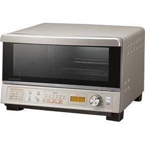 コイズミ オーブントースター KOS-1232/N ゴールド