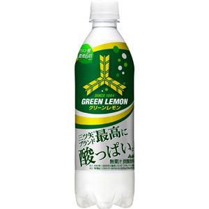 【ケース販売】三ツ矢 グリーンレモン 500ml×24本