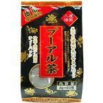 (まとめ買い)ユウキ製薬 徳用 二度焙煎 プーアル茶 黒 3g×60包×8セット