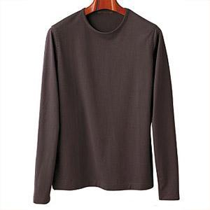 長袖Tシャツ パープルブラウン  4