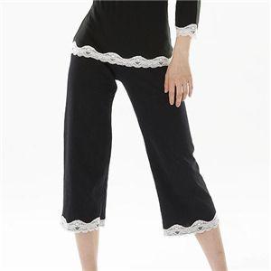 寝ながらシェイプボディパジャマ(トップス・キャミソール・パンツ・巾着袋) M