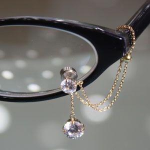 眼鏡につける新感覚メガネジュエリー Eye Jewel K18