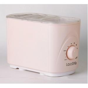 ペットボトル超音波式加湿器 La cote(ラ・コート) シャモアピンク