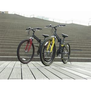 WACHSEN MTB折りたたみ自転車26インチ