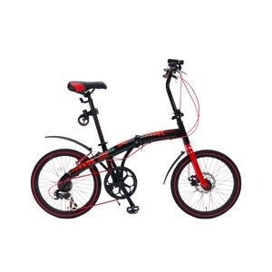 WACHSEN(ヴァクセン)20インチアルミ折りたたみ自転車7段変速付 EXTREM(エクストレム)