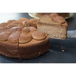 カカオがとろけるローカーボチョコレートケーキ