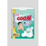 Goo.n(グーン) おむつ 肌ごこちパンツ Mサイズ 72枚 【3セット】
