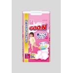 Goo.n(グーン) おむつ 肌ごこちパンツ Lサイズ 54枚 女の子 【3セット】