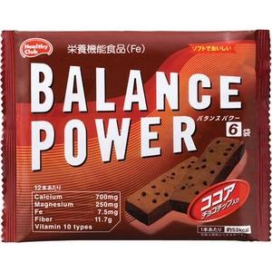 バランスパワー6袋入 ココア味 【10パックセット】