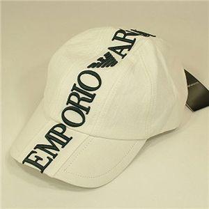 EMPORIO ARMANI(エンポリオ・アルマーニ) ベースボールキャップ 679 ホワイト Lサイズ