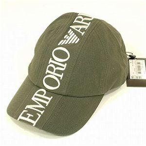 EMPORIO ARMANI(エンポリオ・アルマーニ) ベースボールキャップ 679 グリーン Lサイズ