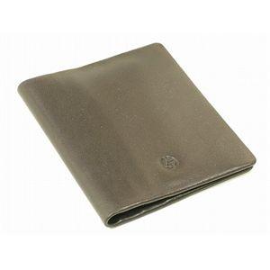GIORGIO ARMANI(ジョルジオ アルマーニ) カードケース YA026-80005 ブラウン カーフ