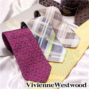 VivienneWestwood(ヴィヴィアンウエストウッド) ネクタイ 2011新作 ストライプブラウン
