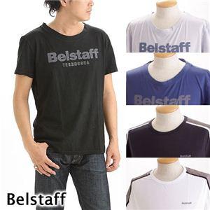 BELSTAFF(ベルスタッフ)メンズTシャツ ライン ネイビー L