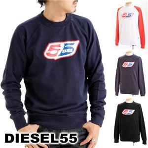DIESEL55(ディーゼル55) CREW トレーナー ブラック S