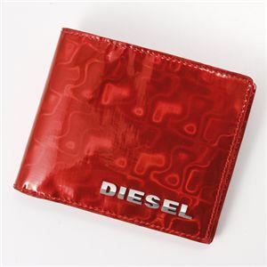 DIESEL(ディーゼル) 2つ折財布 SHINY GENERATION 〜BEN-SHINY〜 XM92 PR184 T4013・Hibiscus