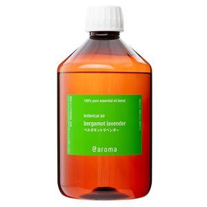 アットアロマ 100%pure essential oil <botanical air ベルガモットラベンダー(450ml)>