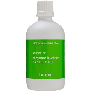 アットアロマ 100%pure essential oil <botanical air ラベンダーミント(100ml)>