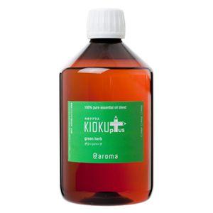 アットアロマ 100%ピュアエッセンシャルオイル KIOKU plus グリーンハーブ 450ml