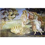 世界の名画シリーズ、プリハード複製画 サンドロ・ボッティチェルリ作 「ヴィーナスの誕生」