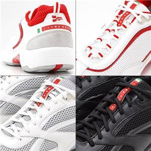 PRADA メンズシューズ LUE001 WHITE & RED 10