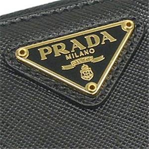 プラダ 1M0506 SAFF ORO ナガサツ BK