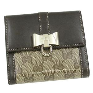 Gucci(グッチ) 181642 FT01G 9643 2ツ折財布 BE/DB