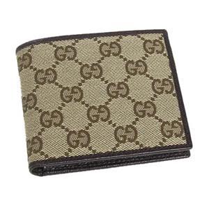 Gucci(グッチ) 04857R F40IR 9643 2ツ折カード入 BE/DB