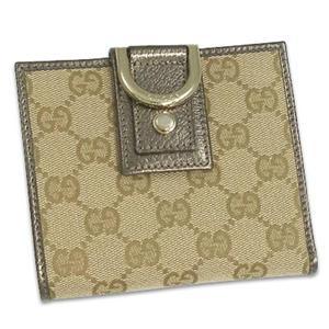 Gucci(グッチ) 141411 F4FSG 9692 2ツ折財布 BR