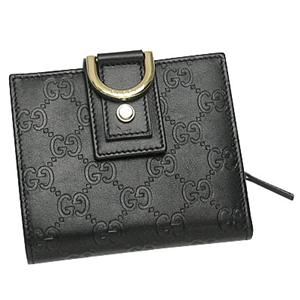 Gucci(グッチ) 154255 AA61G 1000 Wホック BK/GO