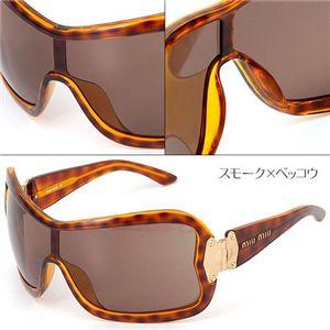 miumiu(ミュウミュウ) サングラス MU01GS-2AU3N1/スモーク×ベッコウ