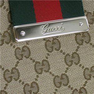 GUCCI(グッチ)ショルダーバッグ 211935 FTATG 9791 SH ベージュ/ダークブラウン