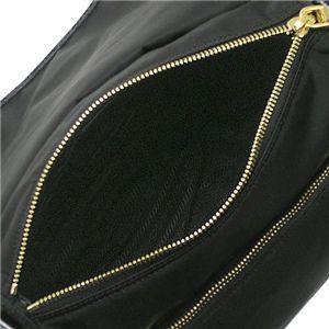 Prada (プラダ)ショルダーバッグ BT0692 TES VERNICE SH ブラック