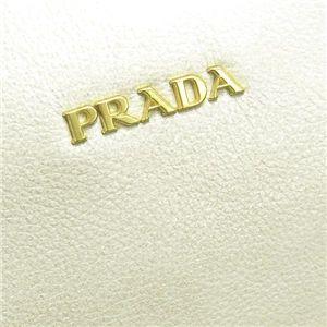 Prada (プラダ)  ハンドバッグ BL0566 CERV0 LUX H アイボリー
