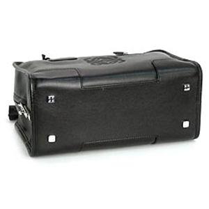 LOEWE(ロベエ)ハンドバッグ 311.62.001アマソナSカーフ ミニアマソナ ブラック