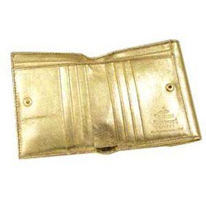 Vivienne Westwood(ヴィヴィアン ウエストウッド) Wホック財布 NAPPA 737 ゴールド