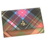 Vivienne Westwood(ヴィヴィアン ウエストウッド) 二つ折り財布(小銭入れ付) DERBY 746