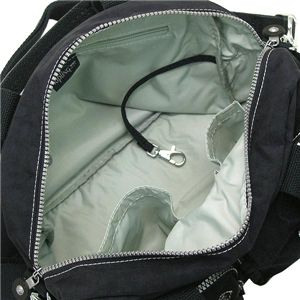 KIPLING(キプリング) ハンドバッグ K13636 DEFEA ブラック/グレイ