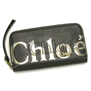 CHLOE(クロエ) 長財布 ECLIPSE 8AP530 LONG ZIPPED WALET LEAD
