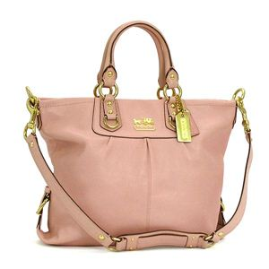 Coach(コーチ) トートバッグ 12935MADISON LEATHER ピンク