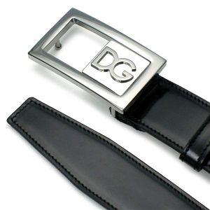 Dolce&Gabbana(ドルチェ&ガッバーナ) ベルト BC2499 BELT ブラック 90