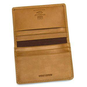 Whitehousecox(ホワイトハウスコックス ) 名刺入れ SR.2138 BUSINESS CARD CASE キャメル