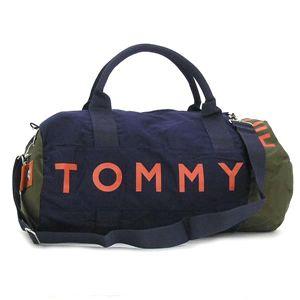 TOMMY HILFIGER(トミーヒルフィガー) ボストンバッグ 390532 L500039 SMALL DUFFLE ネイビー
