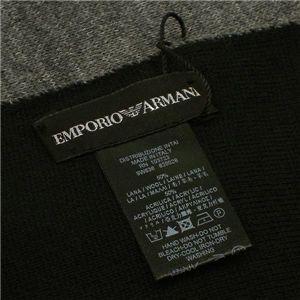 EMPORIO ARMANI(エンポリオ アルマーニ) マフラー 620028/9W636 グレー