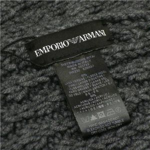 EMPORIO ARMANI(エンポリオ アルマーニ) マフラー 620037/9W230 グレー