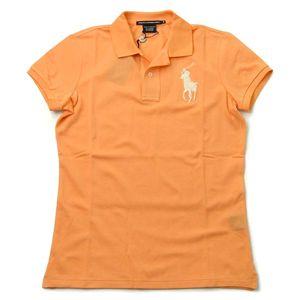 Ralph Lauren(ラルフローレン) ポロシャツ GK96C05 SS VALERIA POLO オレンジ S