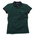 Ralph Lauren(ラルフローレン) ポロシャツ GK96C09 SS EVANGELINE POLO ブラック S