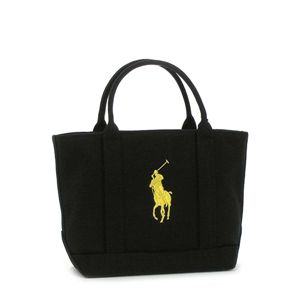 Ralph Lauren(ラルフローレン) トートバッグ HCP247SPPTP CANVAS SMALL TOTE イエロー
