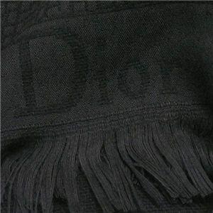 CHRISTIAN DIOR(クリスチャン ディオール) マフラー 368 ブラック